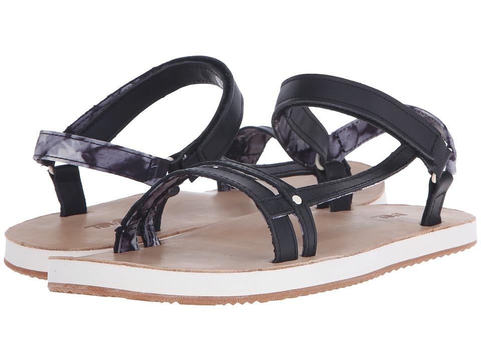 Teva - Slim Universal (Black) Women's Shoes