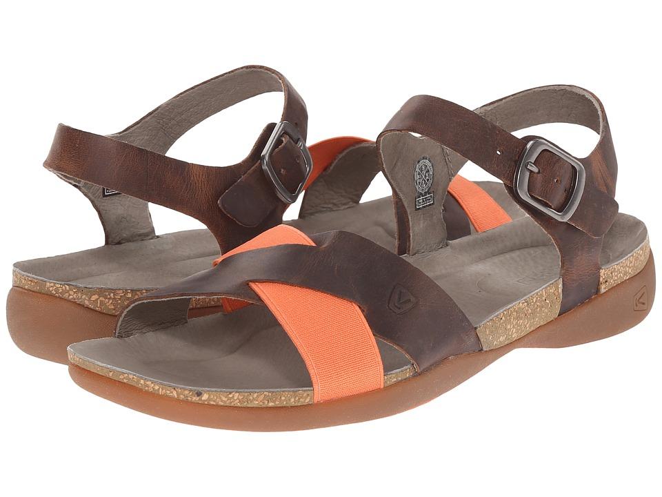 Keen - Dauntless Ankle (Cascade Brown) Women's Shoes