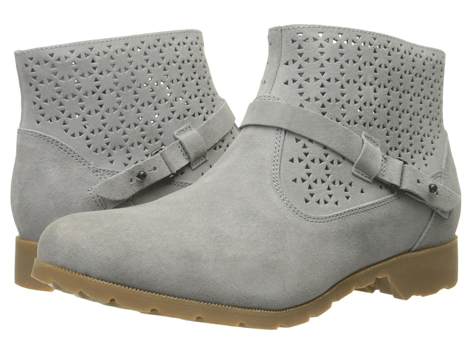 Teva Delavina Ankle Perf (Grey) Women