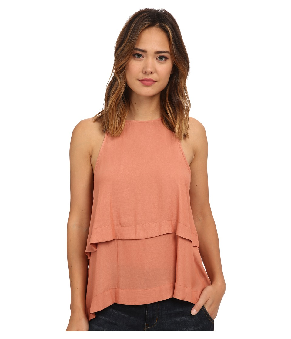 Free People - Layers In Love Tunic (Dark Apricot) Women's Clothing