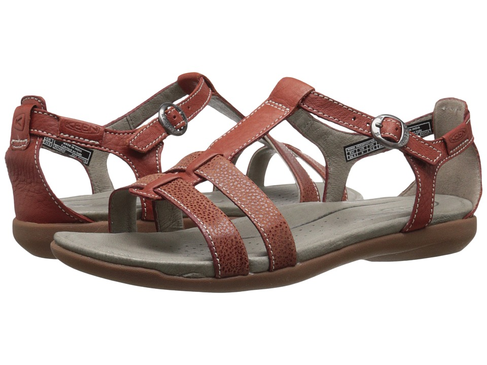 Keen - Rose City T-Strap (Compass) Women's Shoes