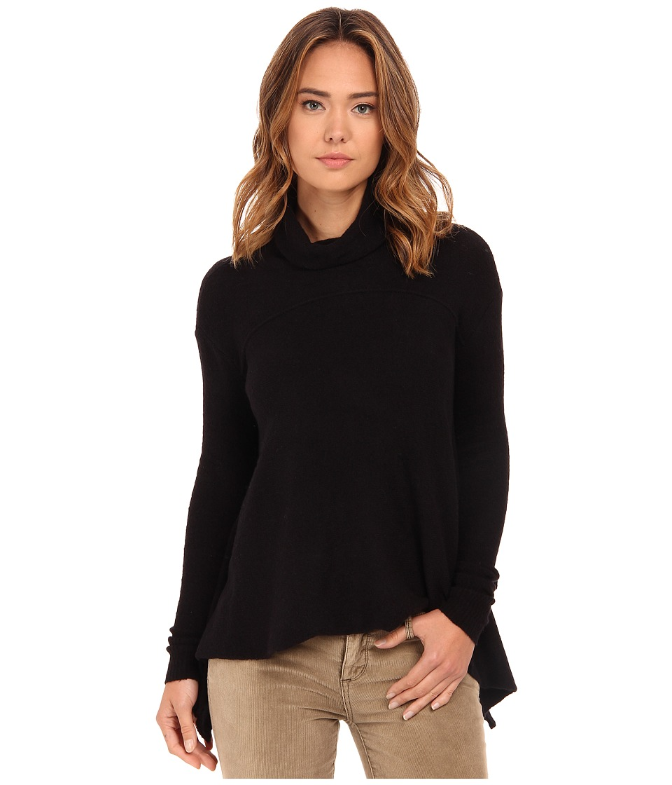 Free People - Drape Drape Top (Black) Women's Sweater
