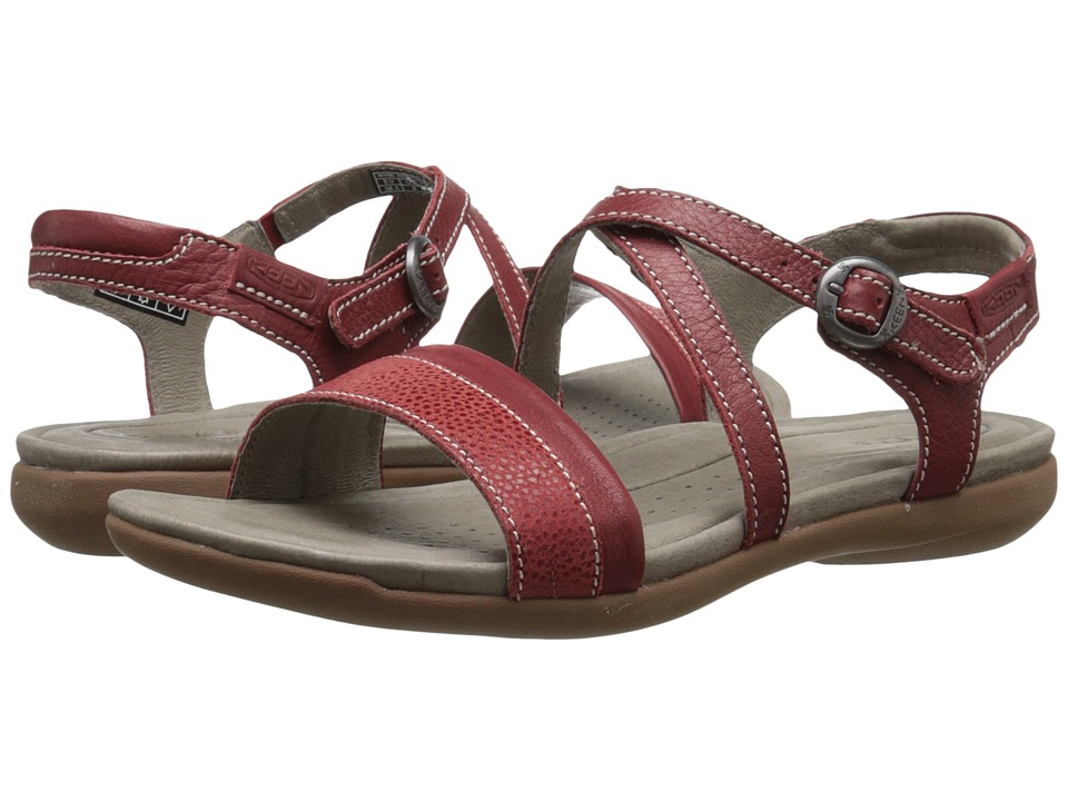Keen - Rose City Sandal (Red Dahlia) Women's Sandals