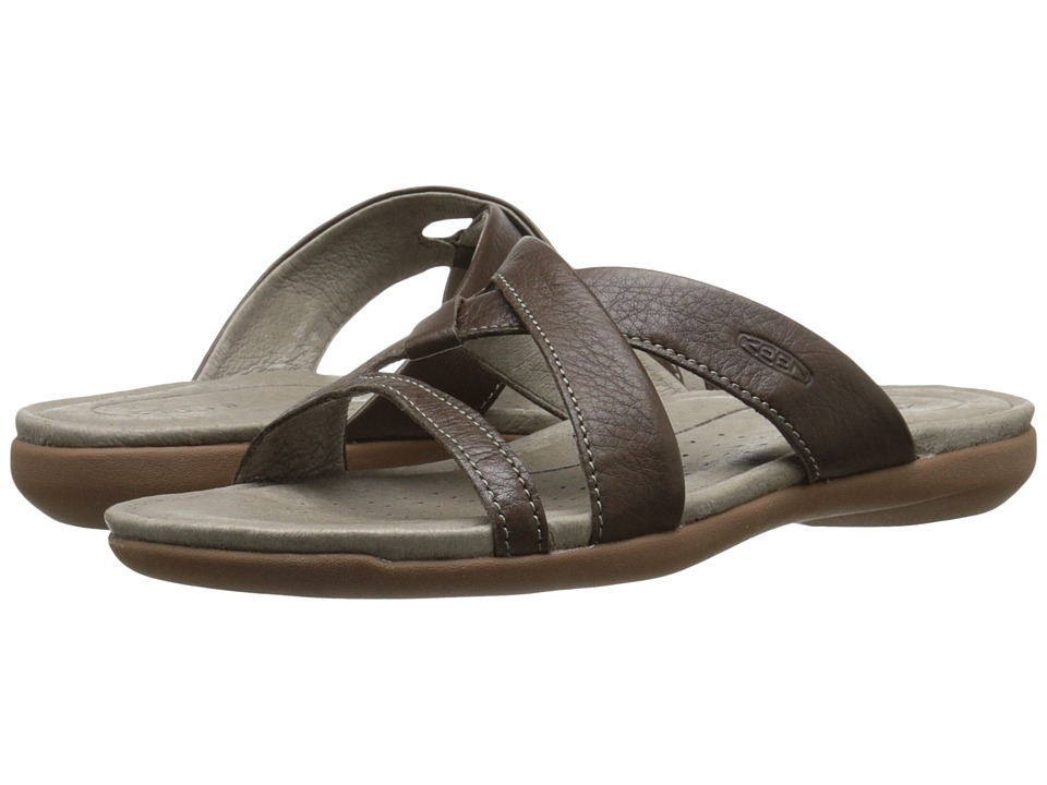 Keen - Rose City Slide (Cascade Brown) Women's Sandals