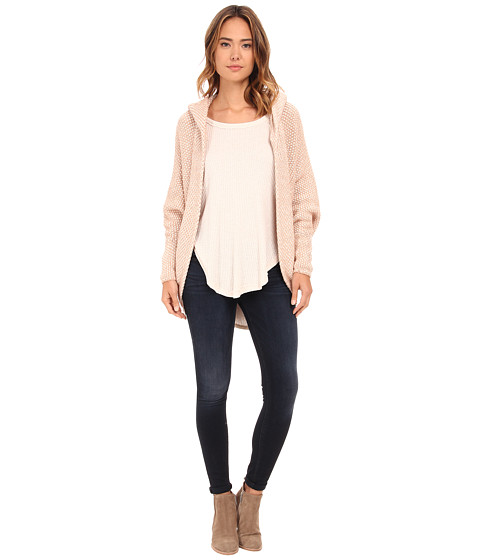 Free People - Coco Cocoon Cardi (Ivory Combo) Women's Sweater