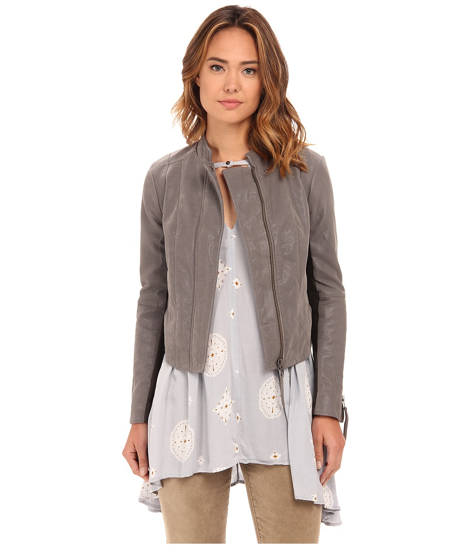 Free People - Cool and Clean Jacket (Steel Mill Grey) Women's Coat