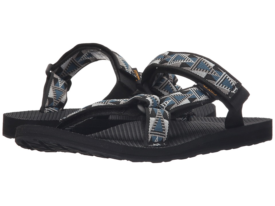 Teva - Universal Slide (Mosaic Black/Blue) Men's Sandals