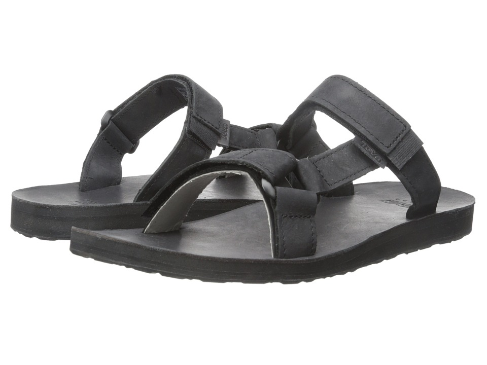 Teva - Universal Slide Leather (Black) Men's Sandals