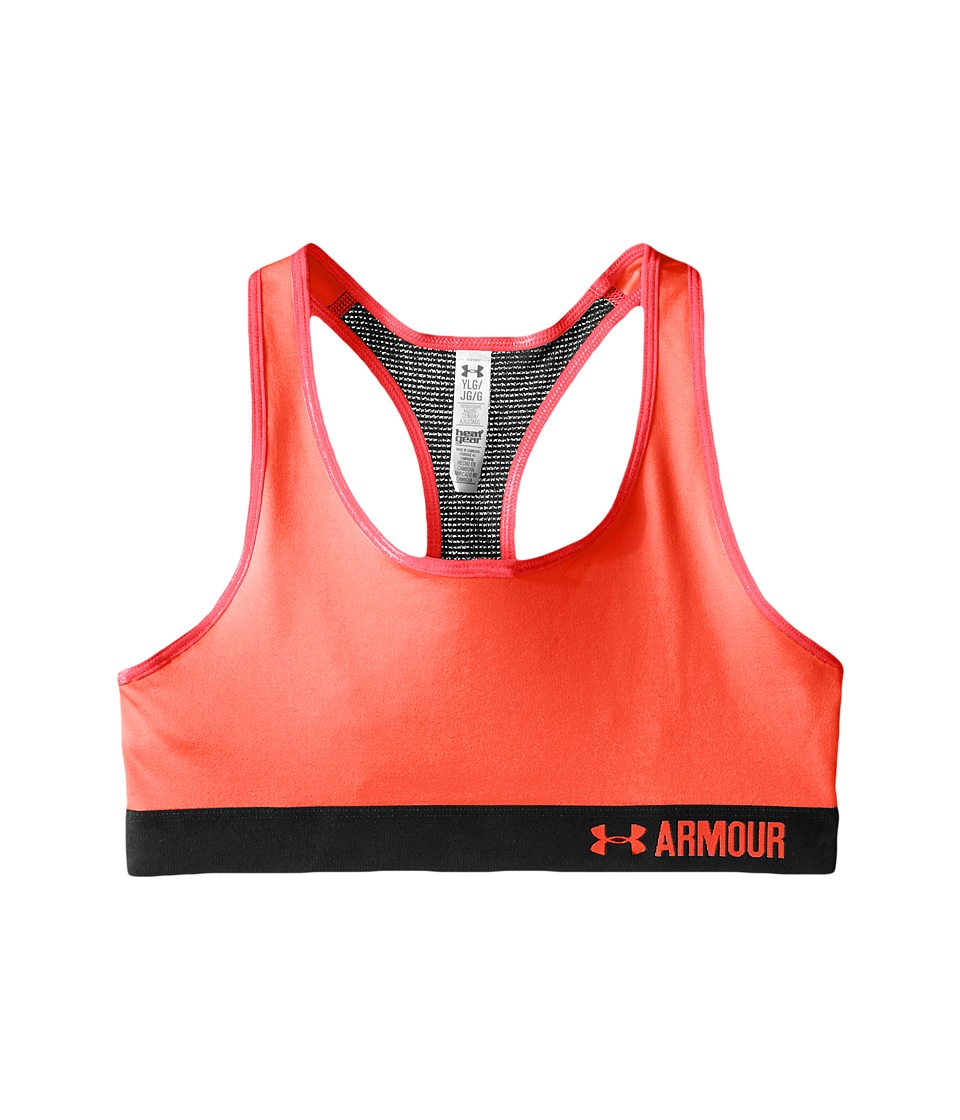 Under Armour Kids - Armour Bra (Big Kids) (After Burn/Stealth Gray) Girl's Bra
