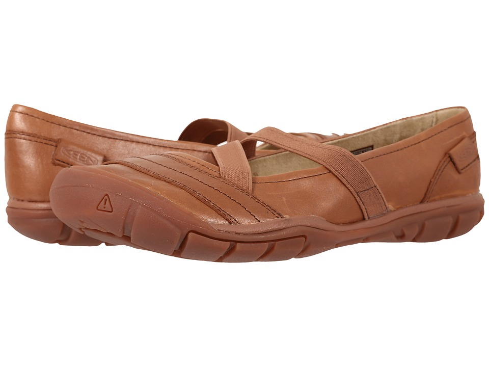 Keen Rivington II Criss-Cross Canvas (Brown) Women