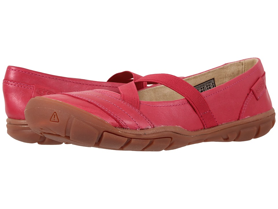 Keen Rivington II Criss-Cross Canvas (Very Berry) Women