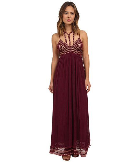 Free People - Sacred Geometry Maxi Dress (Dahlia Combo) Women