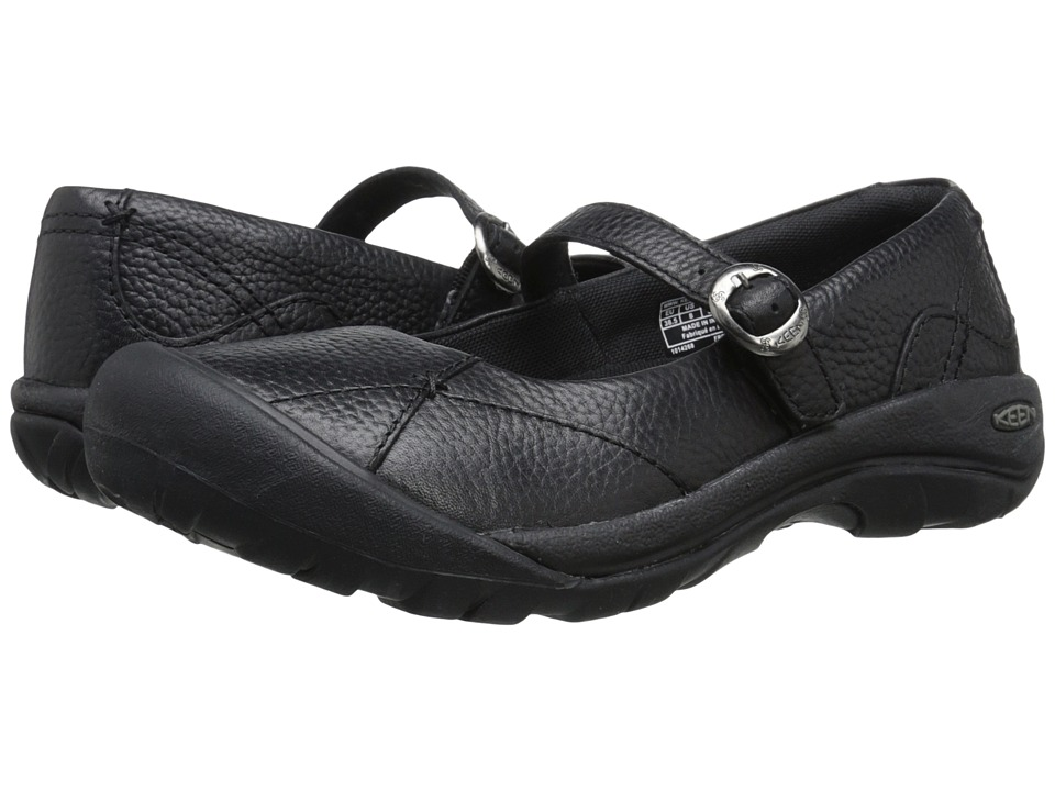 Keen - Presidio MJ (Black/Black) Women's Maryjane Shoes