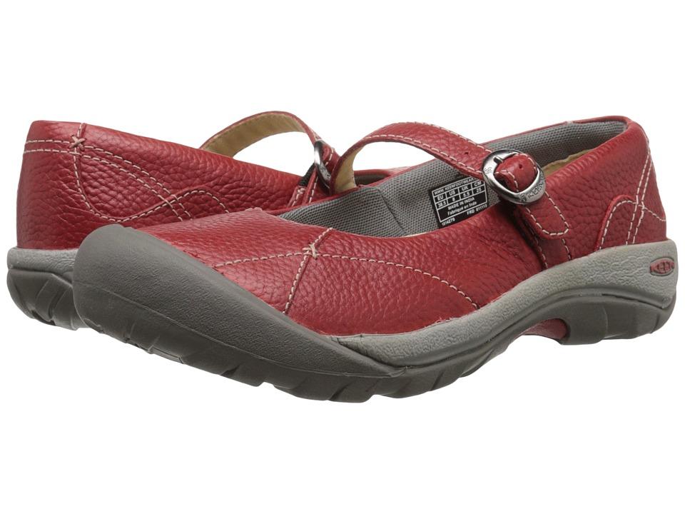Keen - Presidio MJ (Red Dahlia/Red) Women's Maryjane Shoes