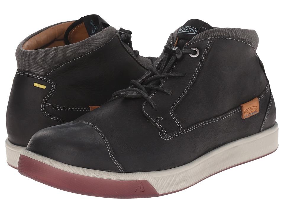 Keen - Glenhaven Mid (Black) Men's Shoes
