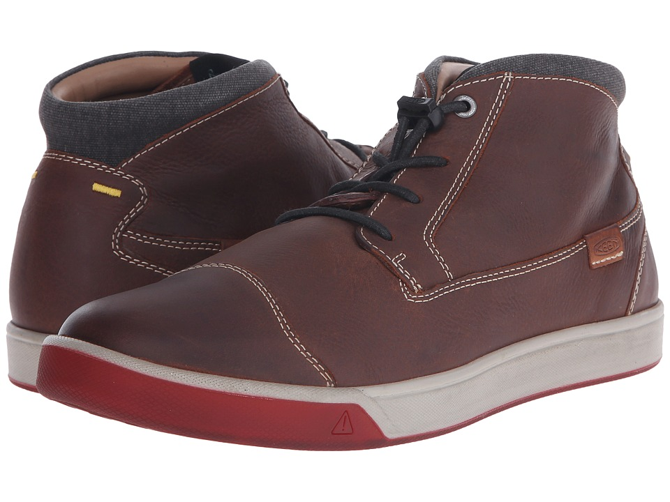 Keen - Glenhaven Mid (Tortoise Shell) Men's Shoes