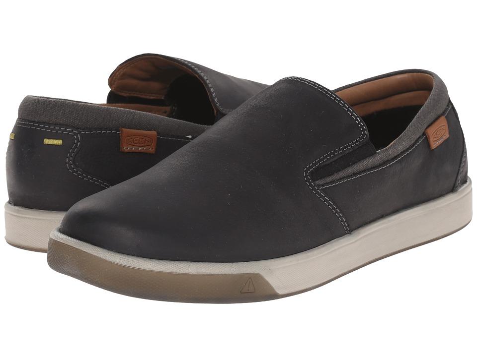 Keen - Glenhaven Slip-On (Black) Men's Shoes