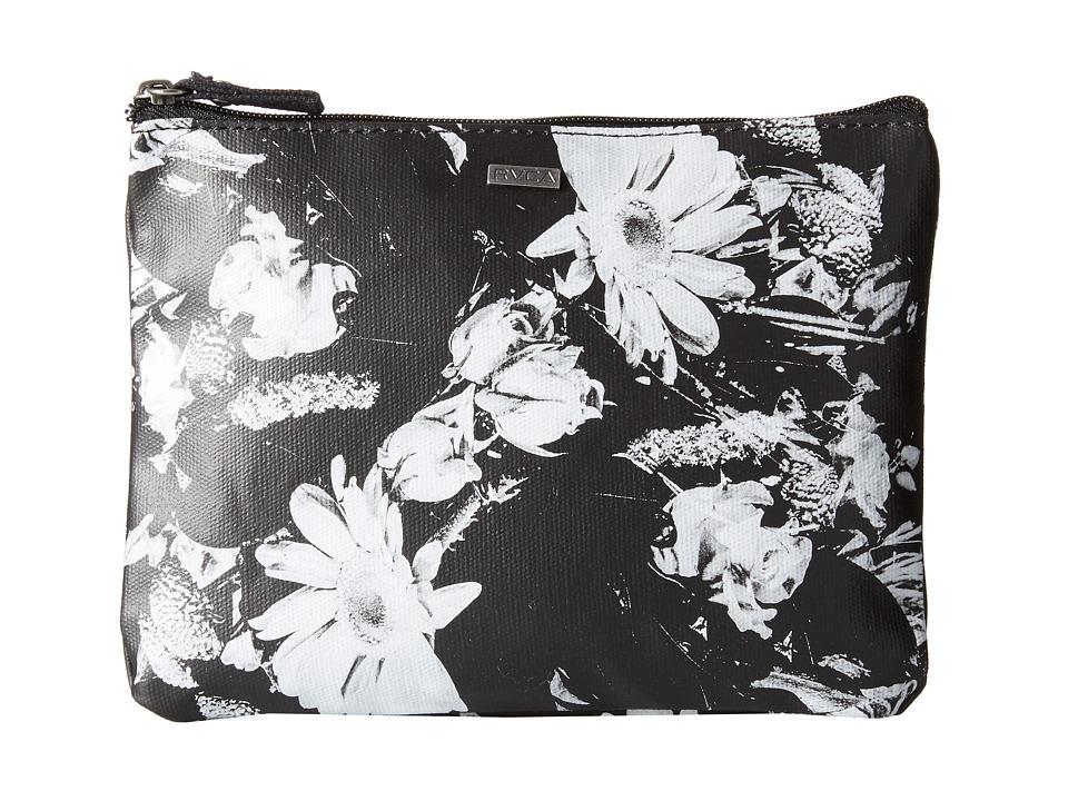 RVCA - Shake Down Wallet (Black/White) Wallet Handbags