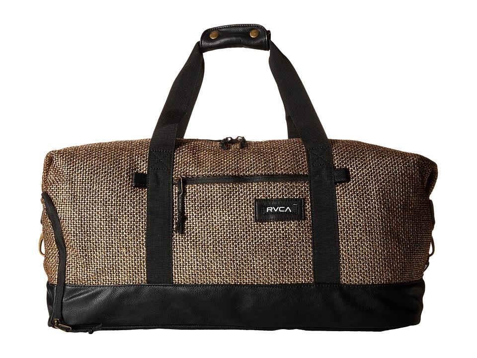 RVCA - Away Away Duffel (Gold) Duffel Bags