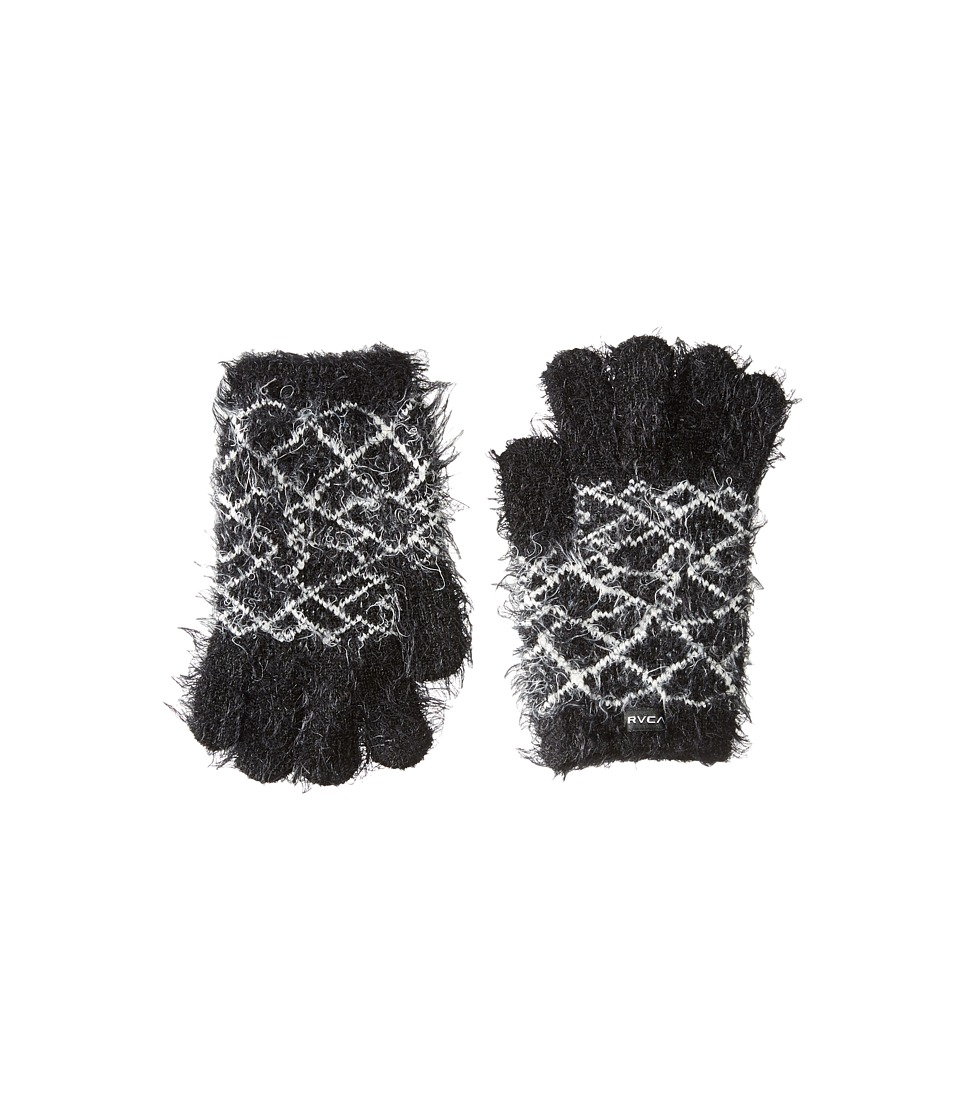 RVCA - Fuzz Off Gloves (Black) Extreme Cold Weather Gloves