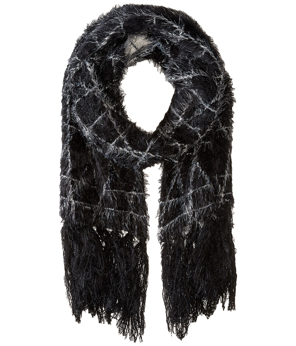 RVCA - Fuzz Off Scarf (Black) Scarves