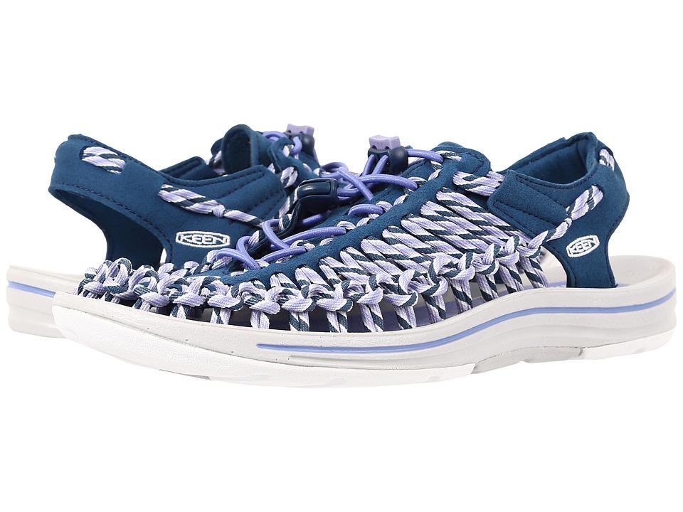 Keen - Uneek (Poseidon/Periwinkle) Women's Toe Open Shoes