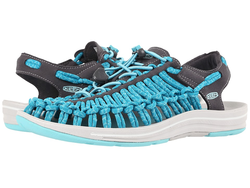 Keen - Uneek (Magnet/Capri) Women's Toe Open Shoes