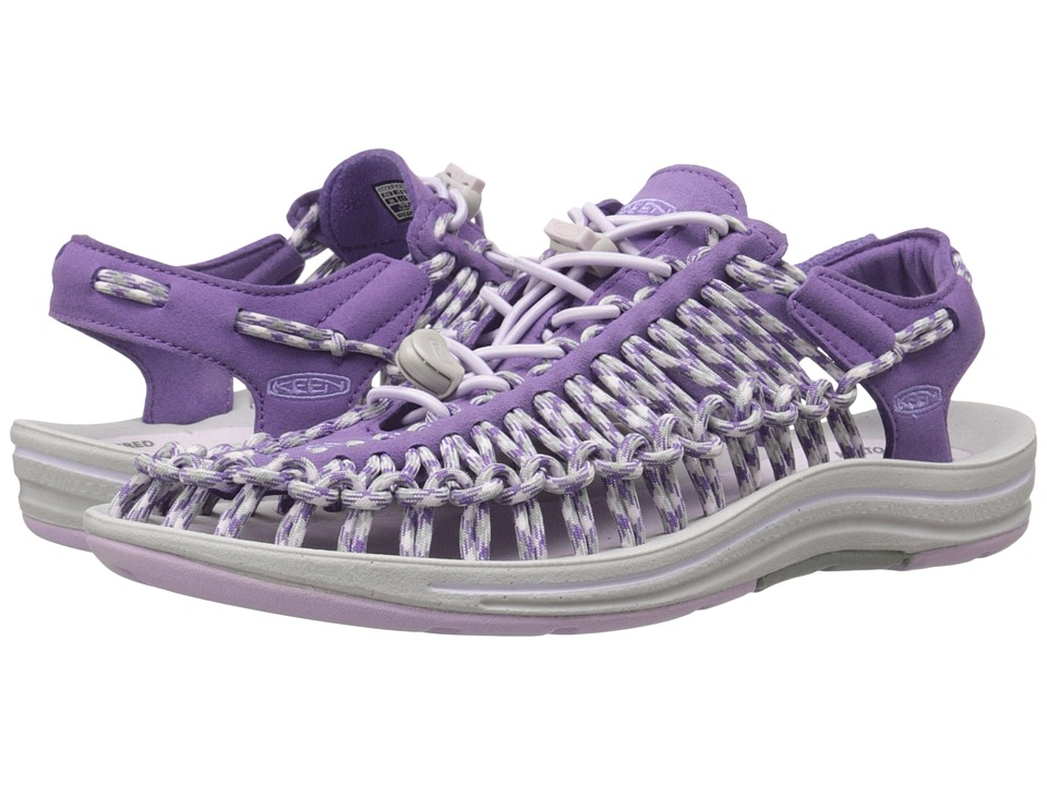Keen - Uneek (Purple Heart/Lavender Fog) Women's Toe Open Shoes