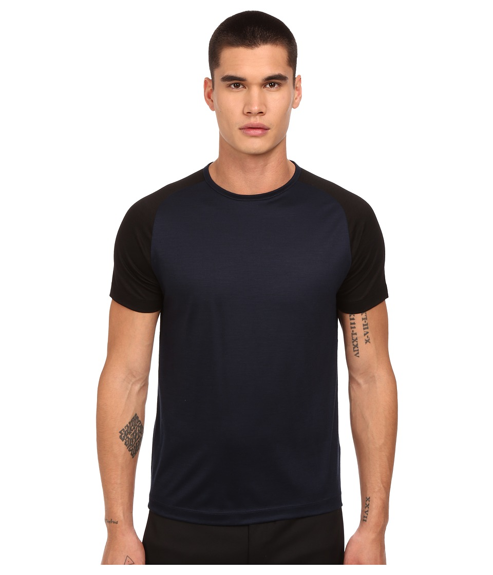 Theory - Gavius.Adept T-Shirt (New Navy Multi) Men's T Shirt