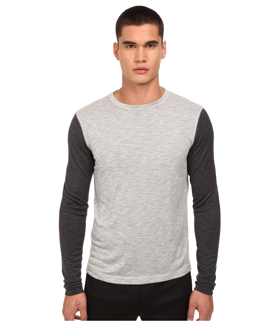Theory - Billey B.Anemone T-Shirt (Grey Multi) Men's T Shirt