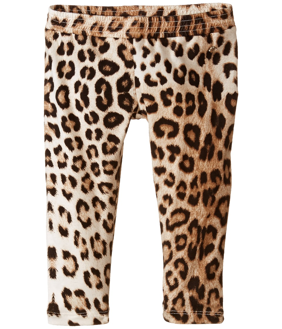 Roberto Cavalli Kids - Leopard Leggings (Toddler) (Multi) Girl's Casual Pants