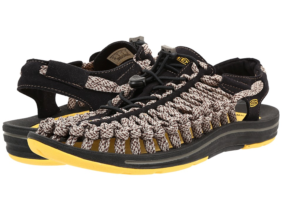 Keen - Uneek Flat (Yellow/Camo) Men's Shoes