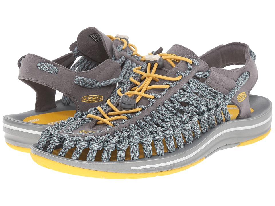 Keen - Uneek Flat (Gargoyle/Camo) Men's Shoes