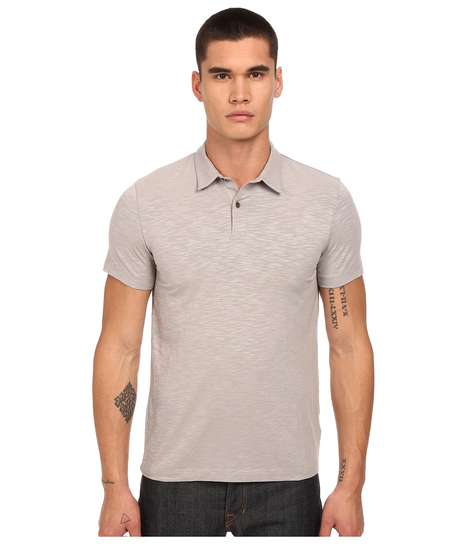Theory - Bron W.Coasting Polo (Winter Sky) Men's Short Sleeve Knit