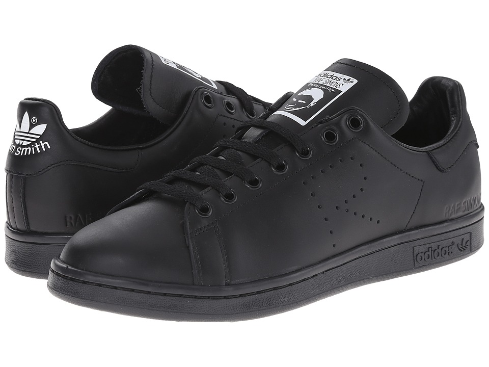 adidas by Raf Simons - Simons Stan Smith (Core Black/FTWR White/Core Black) Lace up casual Shoes