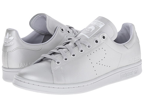 adidas by Raf Simons - Simons Stan Smith (Silver Metallic/FTWR White/Silver Metallic) Lace up casual Shoes