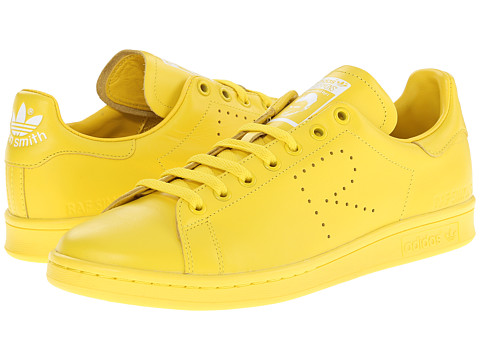 adidas by Raf Simons - Simons Stan Smith (Yellow/FTW White/Yellow) Lace up casual Shoes