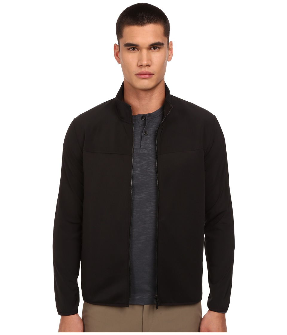 Theory - Stroud W.Jetliner Coat (Black) Men's Coat