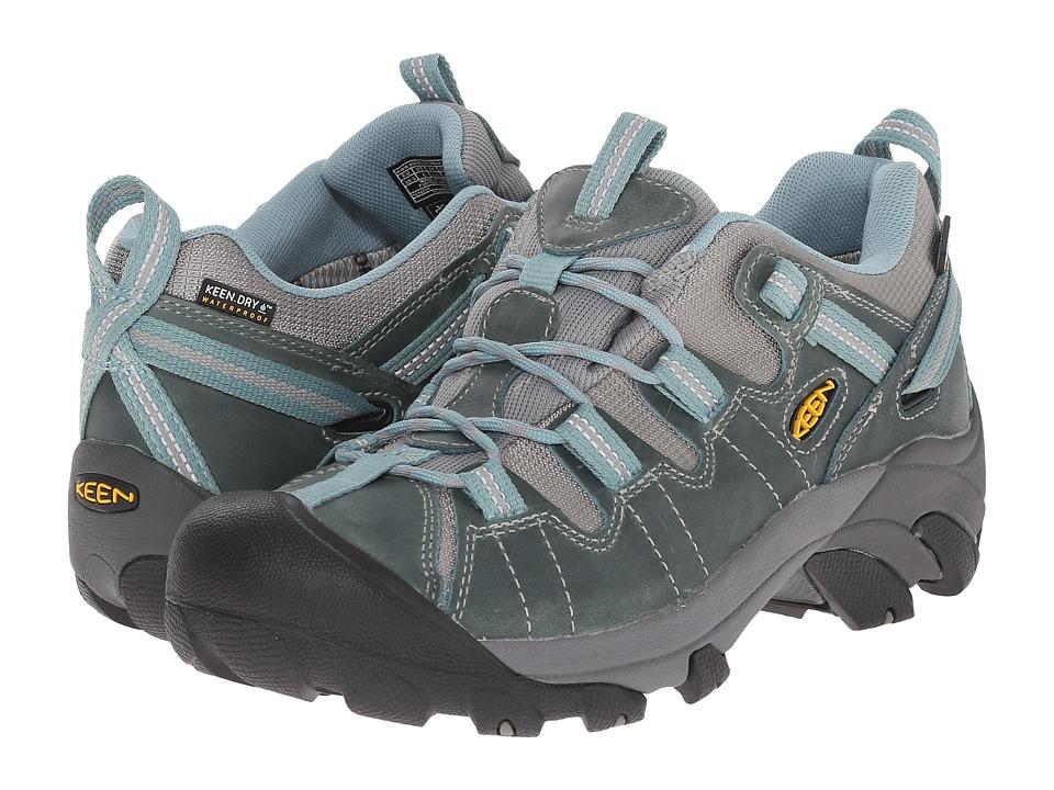 Keen - Targhee II (Mineral Blue/Neutral Gray) Women's Hiking Boots