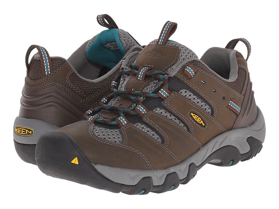 Keen - Koven (Cascade Brown/Everglade) Women's Shoes