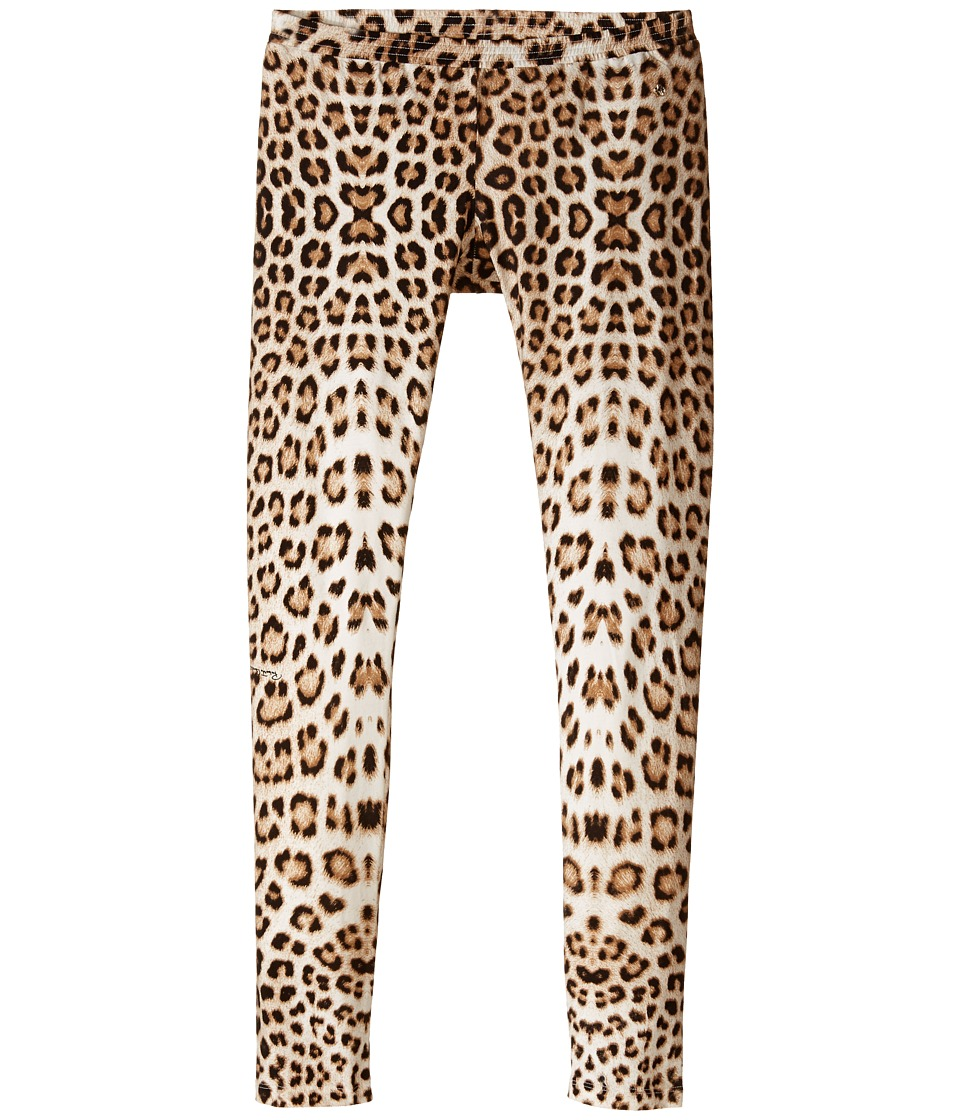 Roberto Cavalli Kids - Leopard Leggings (Big Kids) (Multi) Girl's Clothing