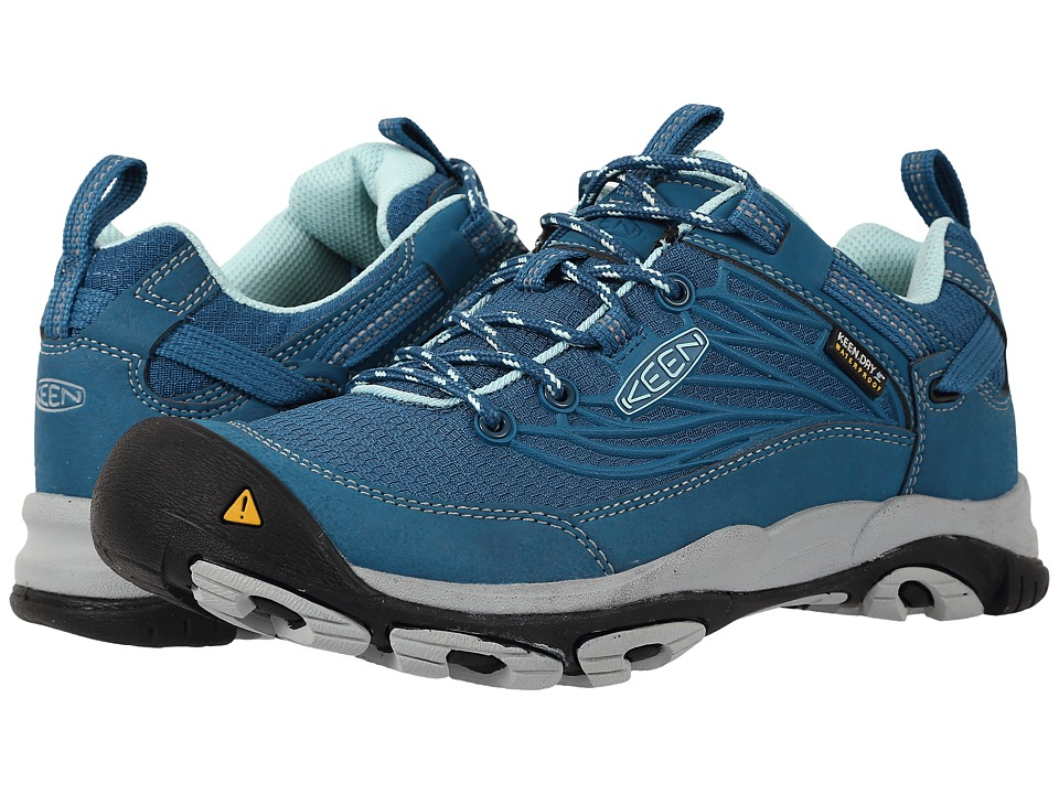 Keen - Saltzman WP (Ink Blue/Eggshell Blue) Women's Cross Training Shoes