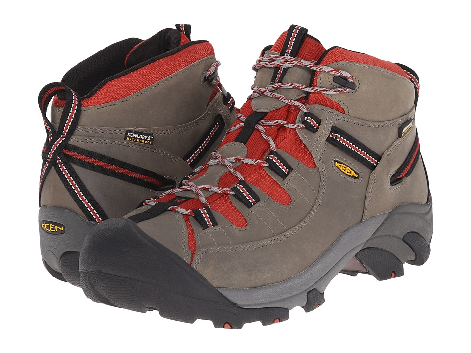 Keen - Targhee II Mid (Neutral Gray/Bossa Nova) Men's Waterproof Boots