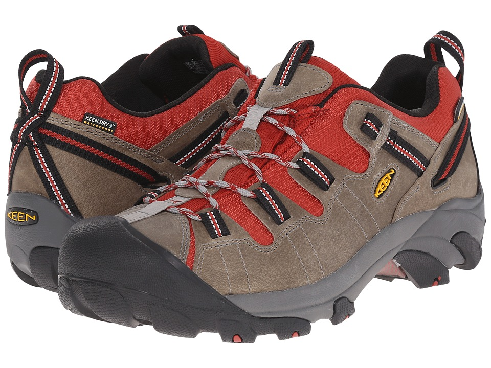 Keen - Targhee II (Neutral Gray/Bossa Nova) Men's Waterproof Boots