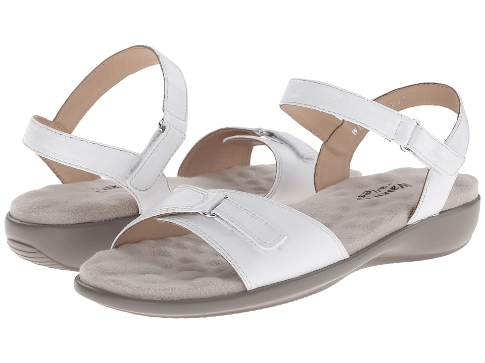 Walking Cradles - Sky-3 (White) Women's Sandals