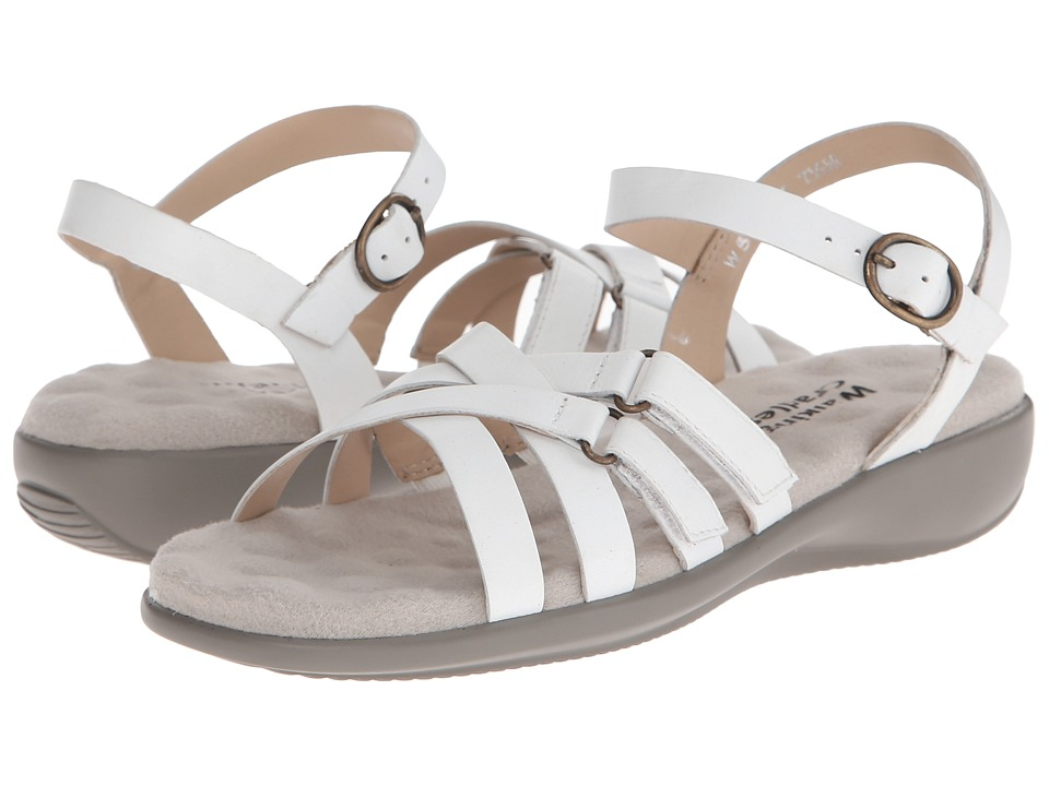 Walking Cradles - Sleek (White) Women's Sandals