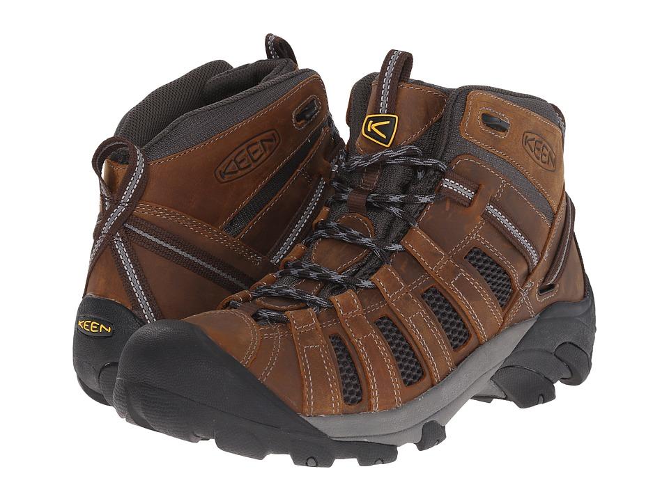 Keen - Voyageur Mid (Cascade Brown/Raven) Men's Hiking Boots