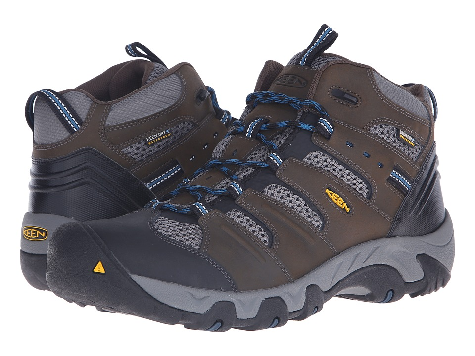 Keen - Koven Mid WP (Cascade Brown/Ink Blue) Men's Hiking Boots