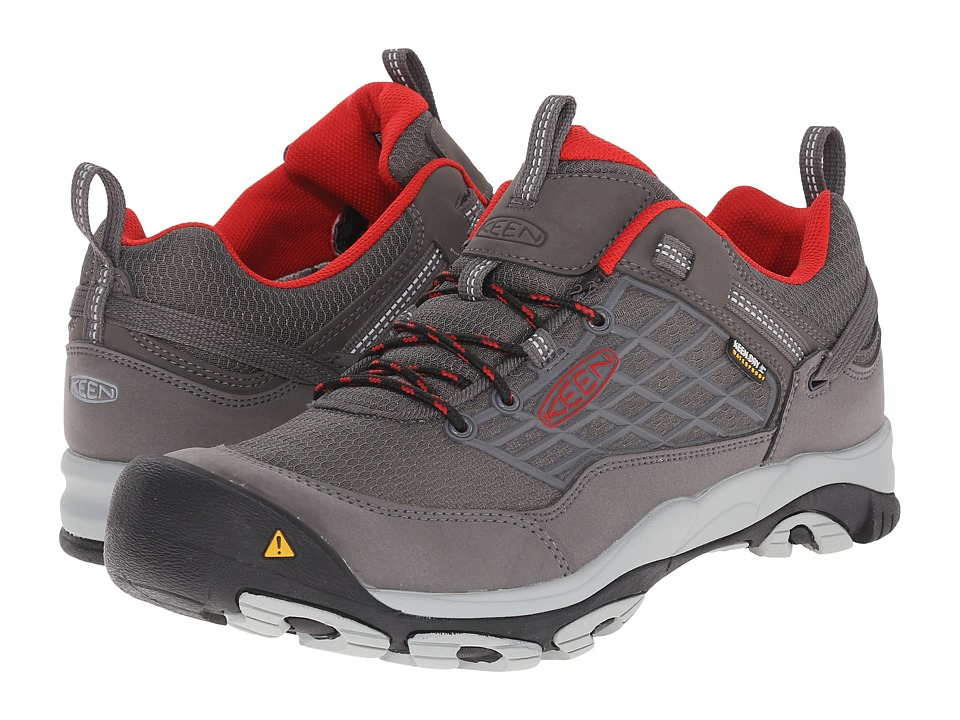 Keen - Saltzman WP (Magnet/Racing Red) Men's Shoes