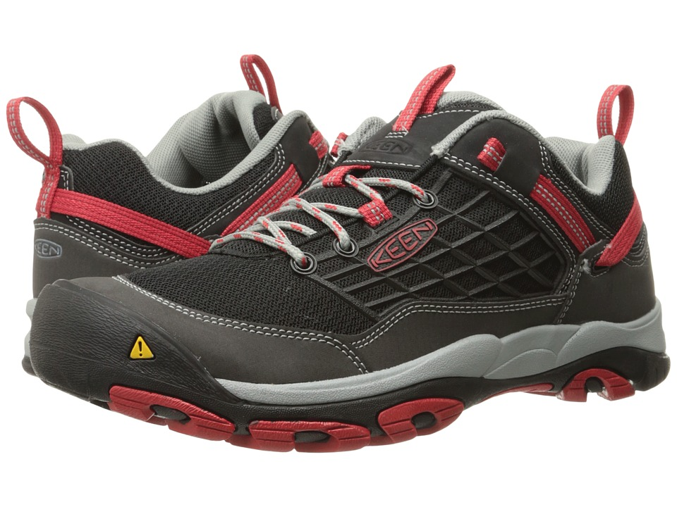 Keen - Saltzman (Black/Racing Red) Men's Shoes